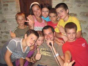 corsi estivi di inglese per bambini al summer camp di Gubbio