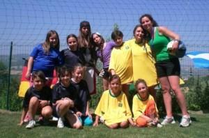 torneo di calcio al camp estivo