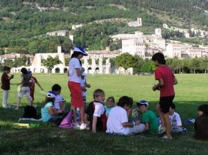 gita scolastica a Gubbio