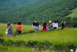 escursioni lungo il sentiero francescano e trekking sull'Appennino Umbro Marchigiano