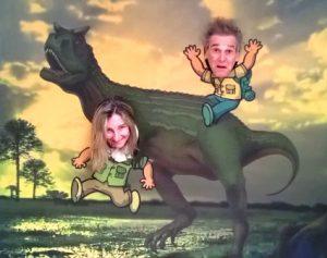dinosauro aquilone